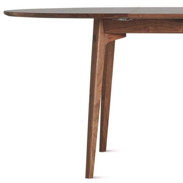 Skilled carpentry in the form of solid wood legs and exquisite mitred joints.