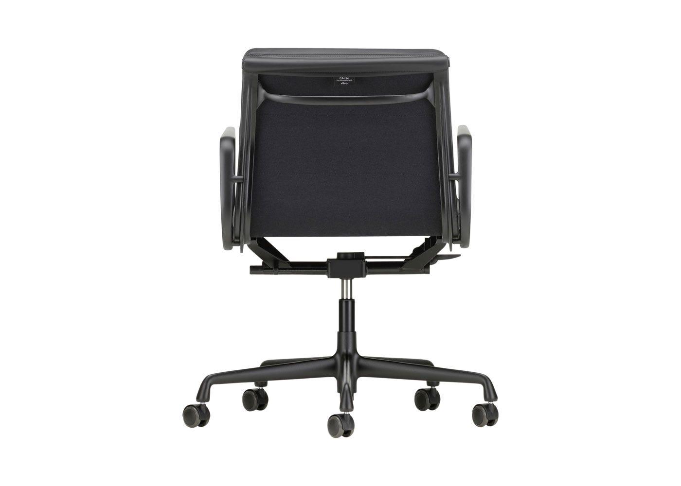 As Shown: Eames EA217 Soft Pad Chair Medium High Backrest Back Profile