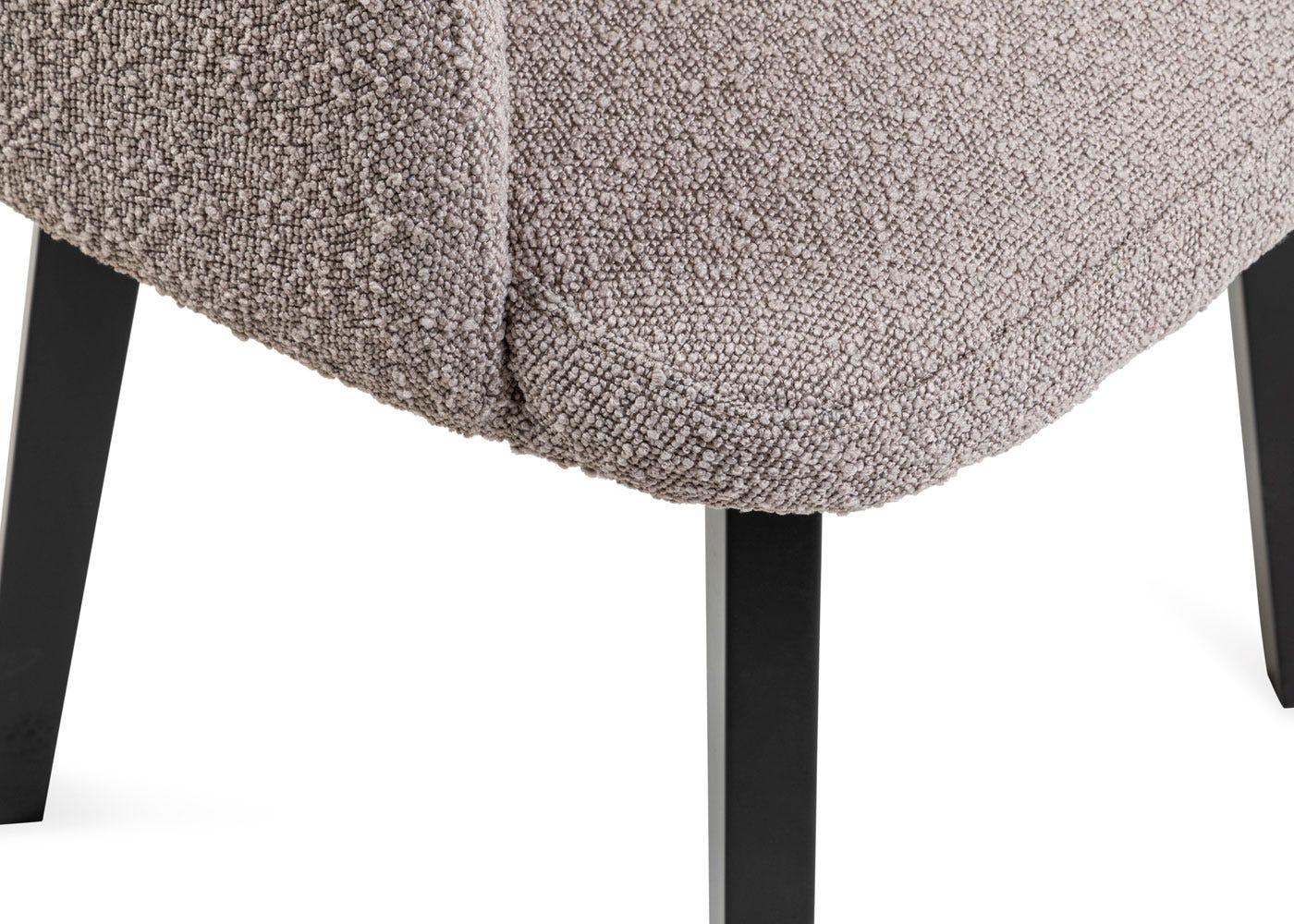 As shown: Copenhagen grey fabric.