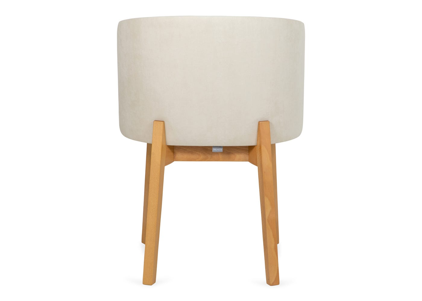 Edit chair cord cream oak stain leg - Rear profile.
