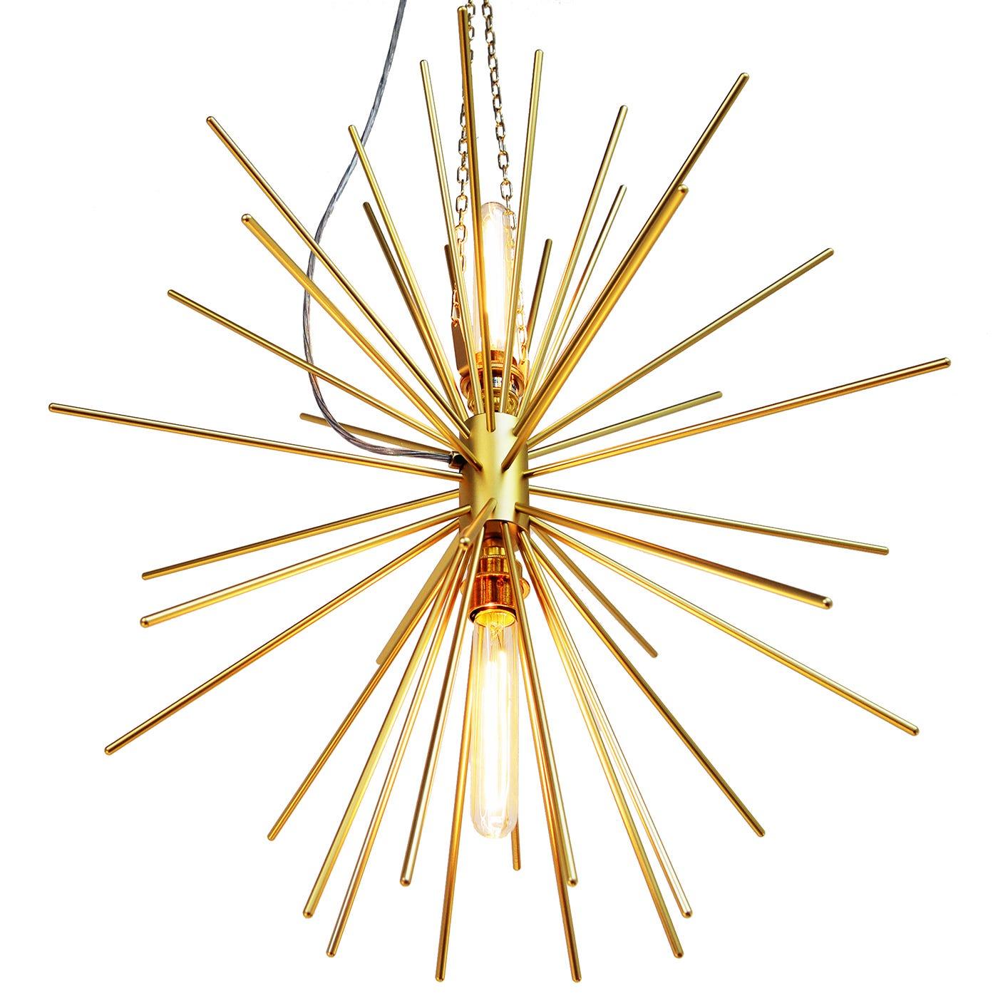 Elara Pendant Brass-Coated Aluminium