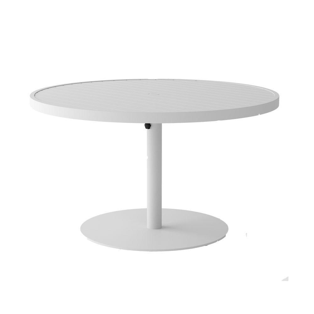 Eos Pedestal Circular Outdoor Dining Table