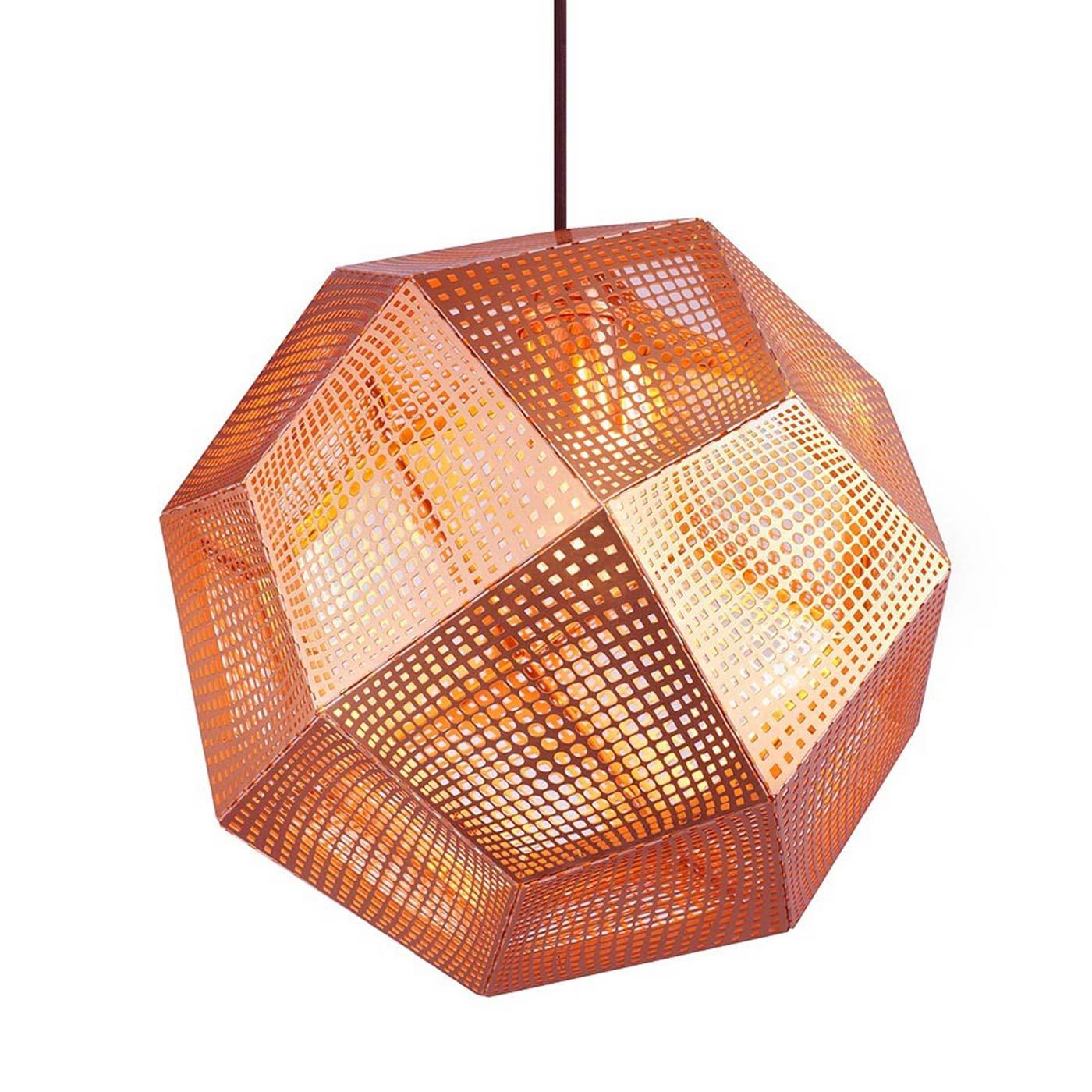 Etch Pendant Light Standard Copper