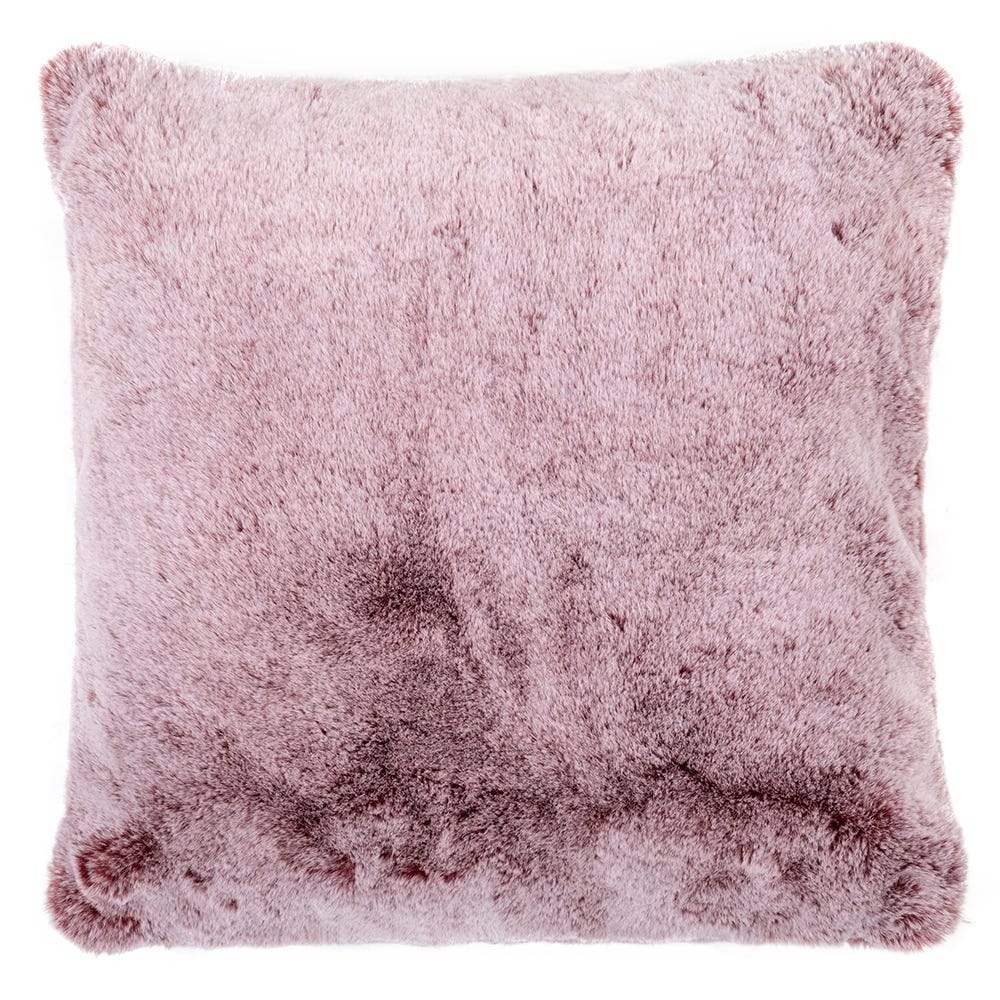 Faux Fur Cushion Russet 45 x 45cm