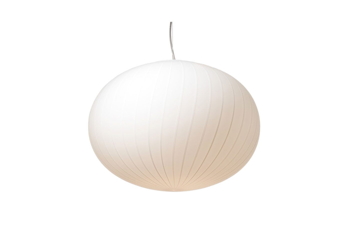 As shown: Filigrana S3 Ellipse Pendant Light Medium - White.
