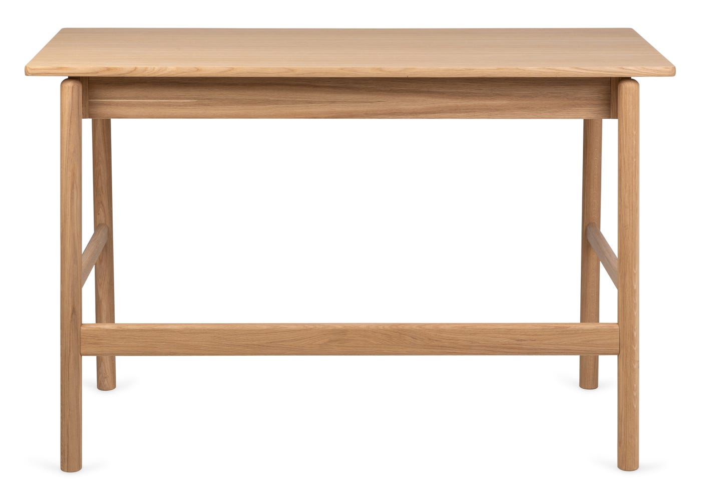 As shown: Flette desk - Rear profile.