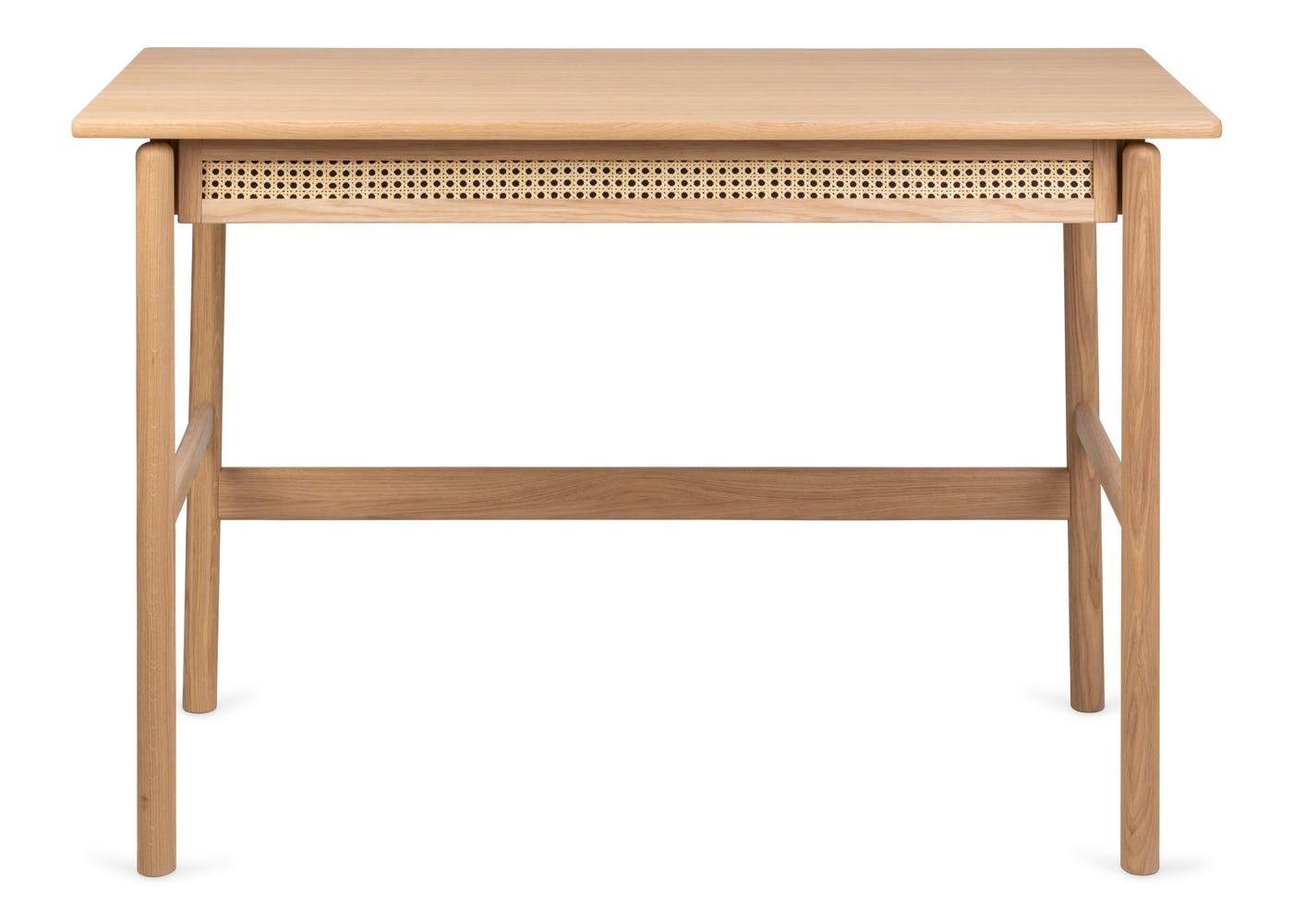As shown: Flette desk - Front profile.