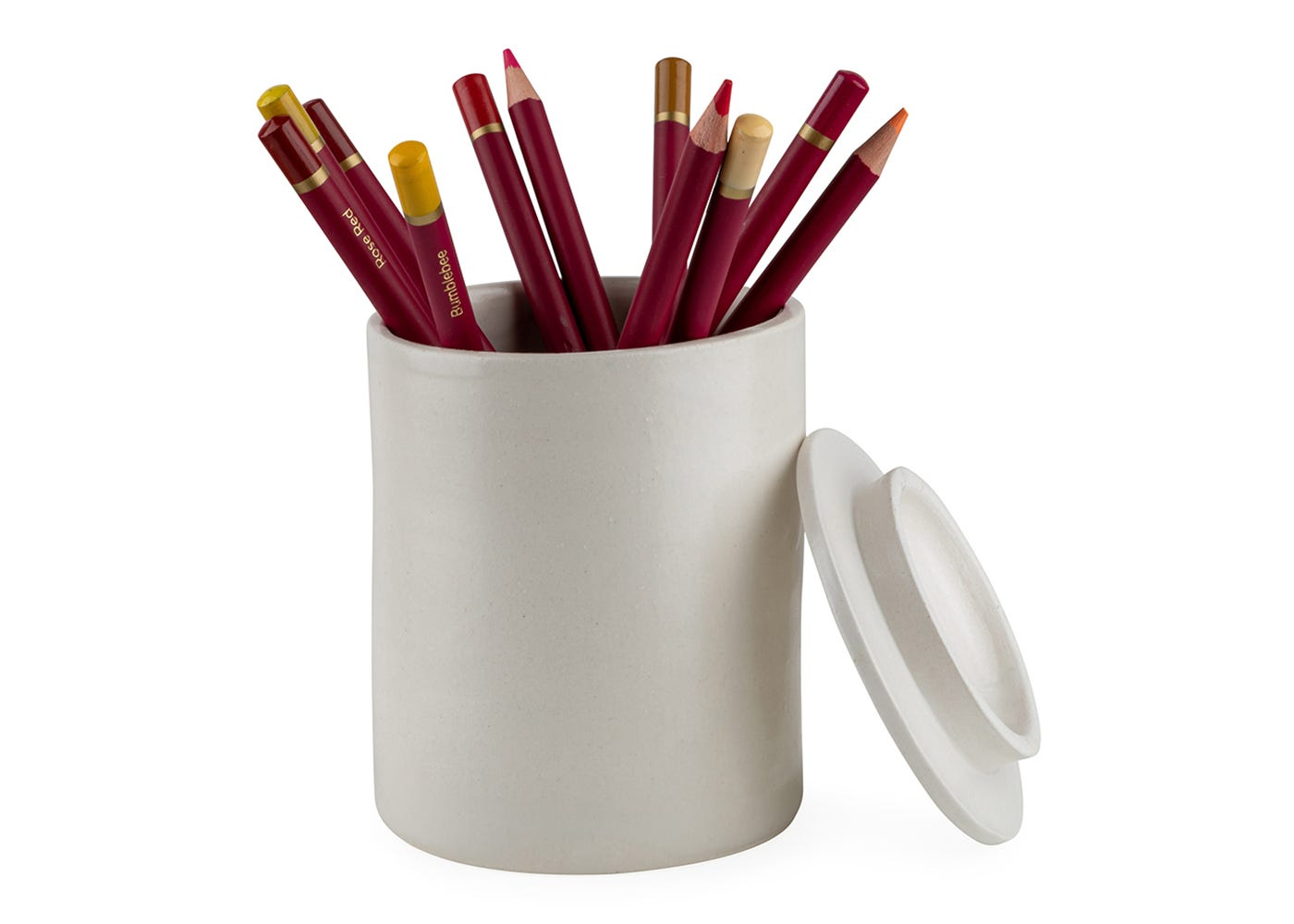 Porcelain vessel can be reused to store utensils