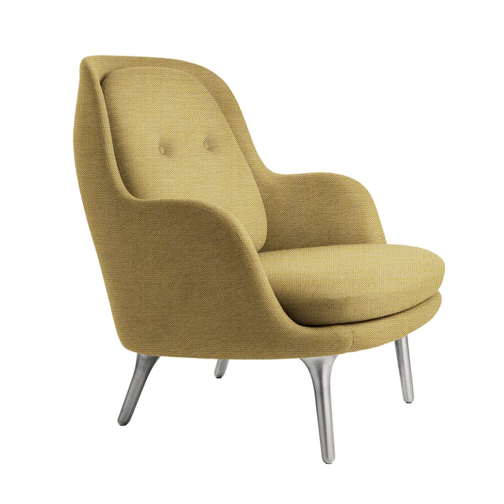 Fri Lounge Chair Yellow