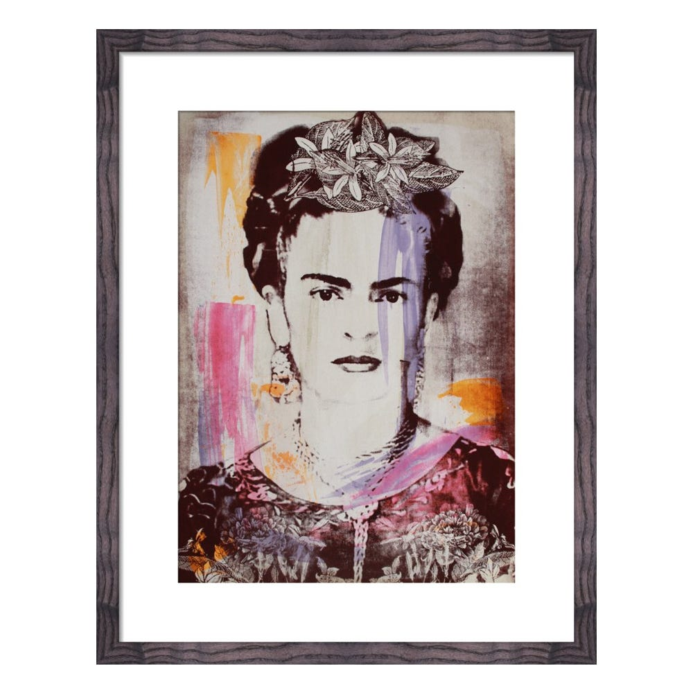 Frida by Adeline Meilliez Framed Print