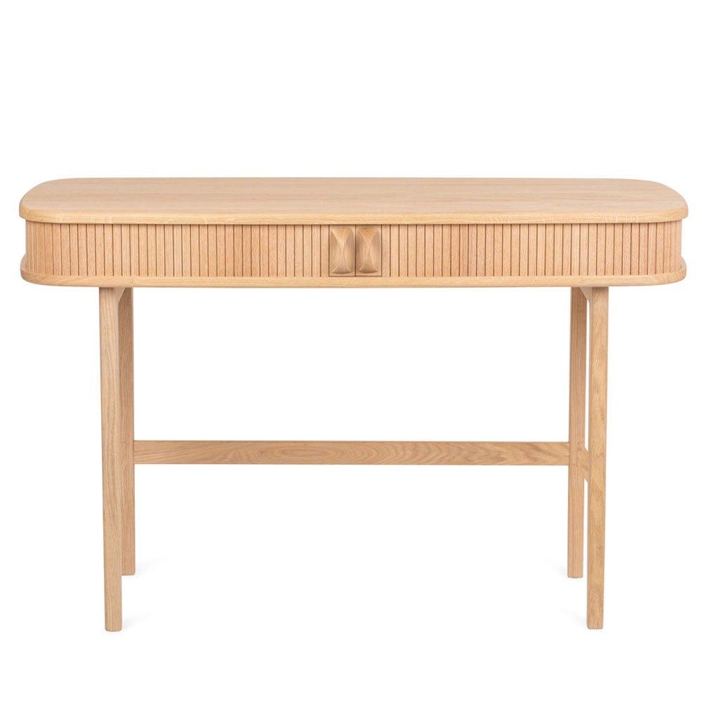 Glide Desk Oak