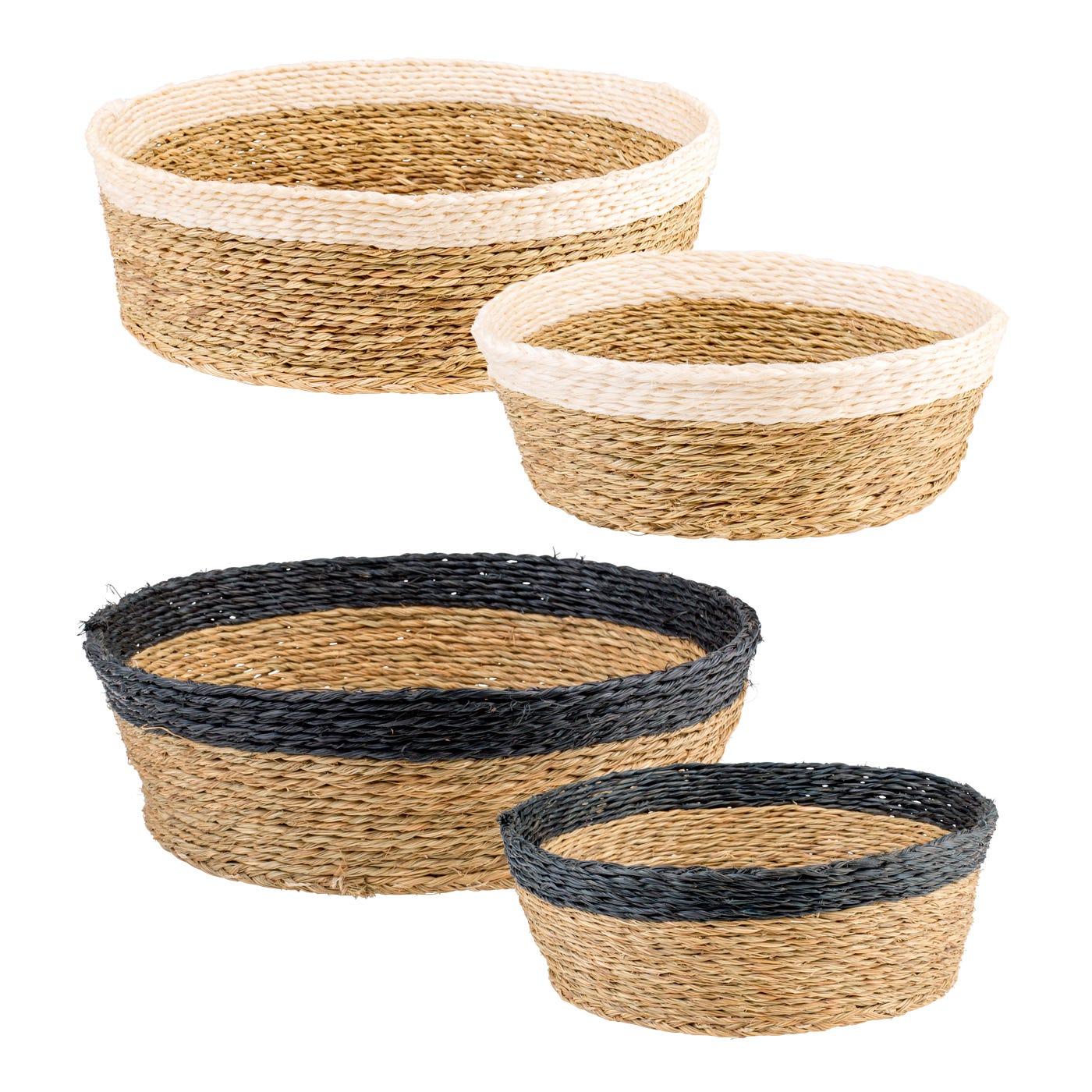 Gone Rural Round Basket