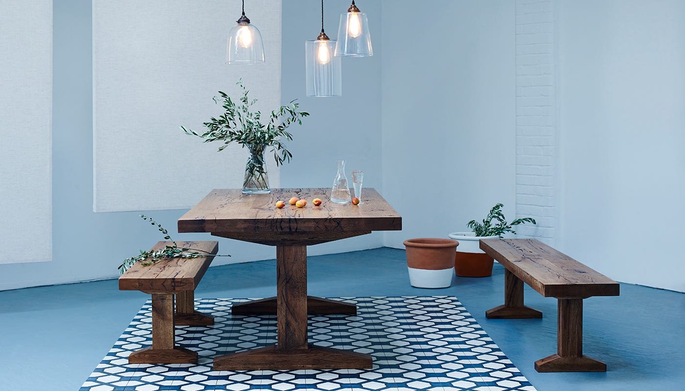 heal's tuscan dining table