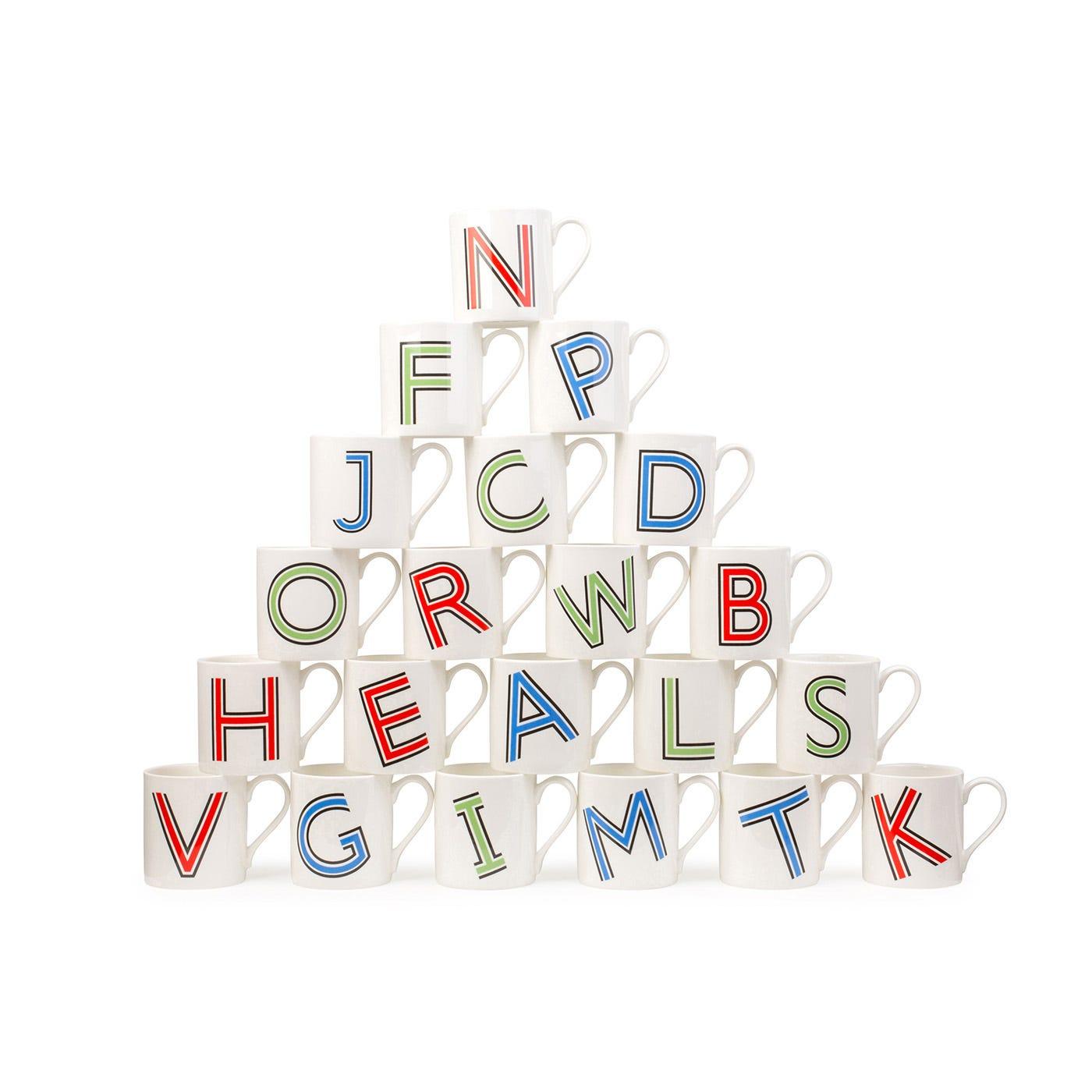 Heal's Heritage Alphabet Mug