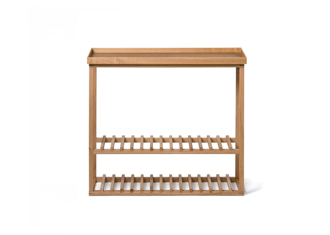 As Shown: Hello Storage Table Front