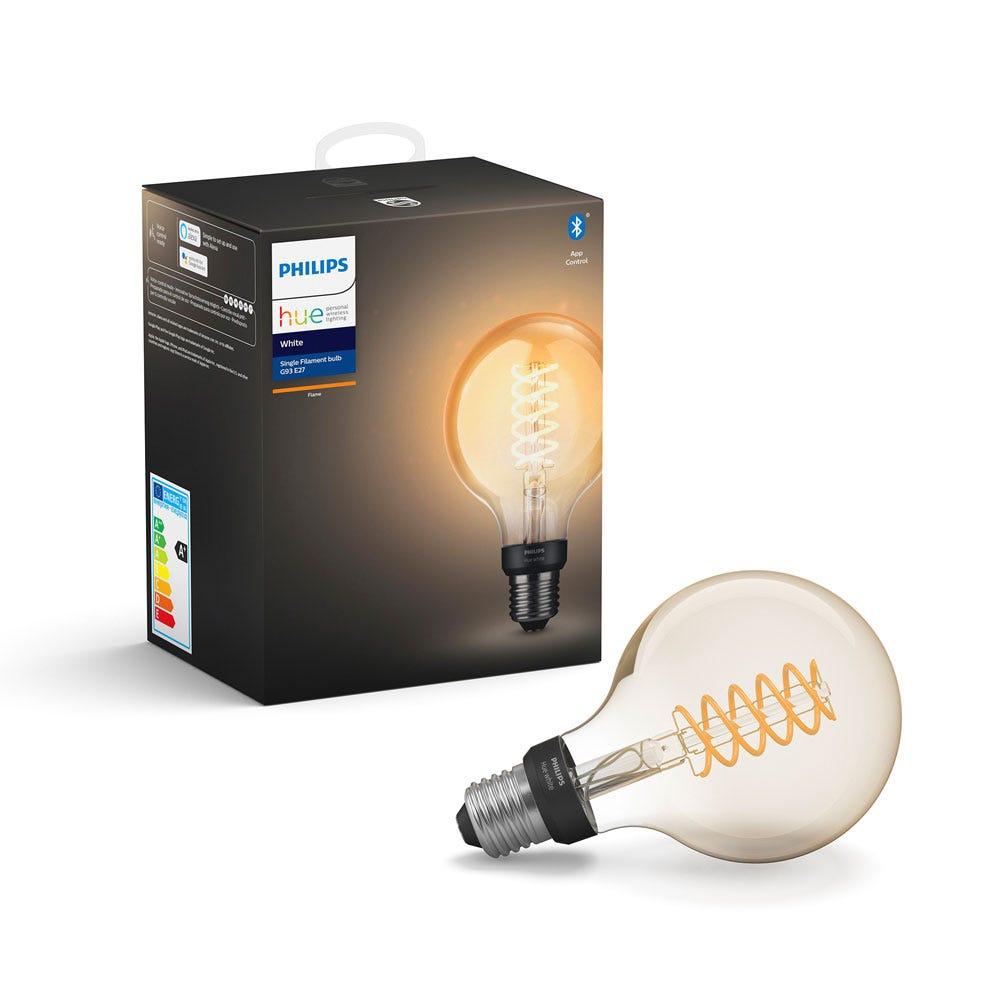 Hue Filament Smart Bulb White G93 E27 LED