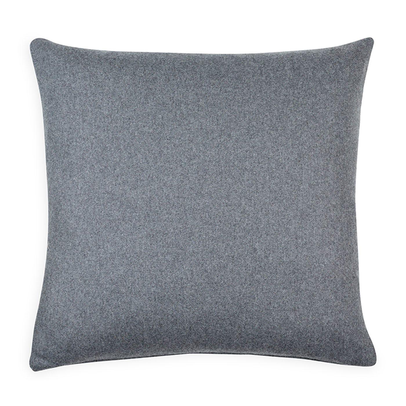 Islington Wool Cushion Slate 45 x 45cm