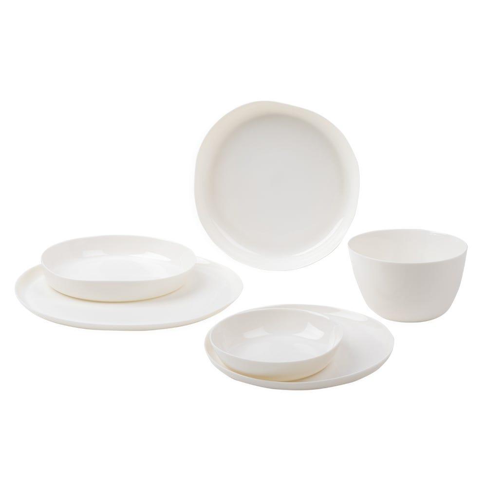 Porcelain Milk White Dinnerware