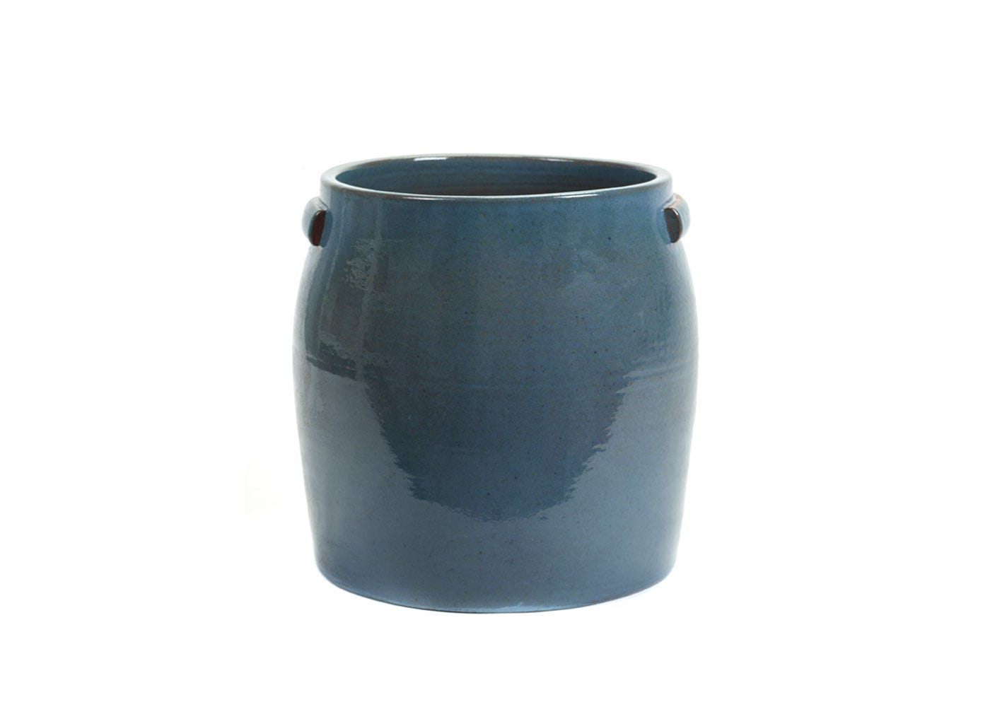 As Shown: Jars Plant Pot Extra Large in Blue