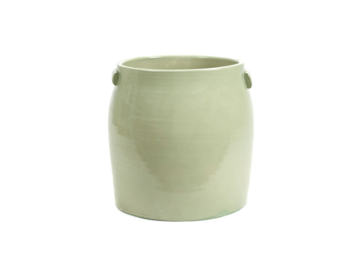 As Shown: Jars Plant Pot Extra Large in Green
