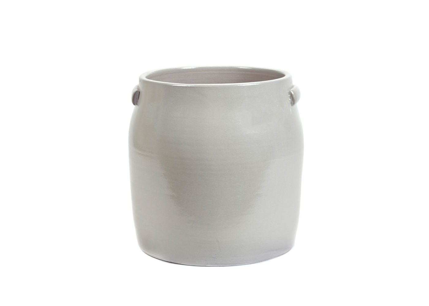 As Shown: Jars Plant Pot Extra Large in Grey