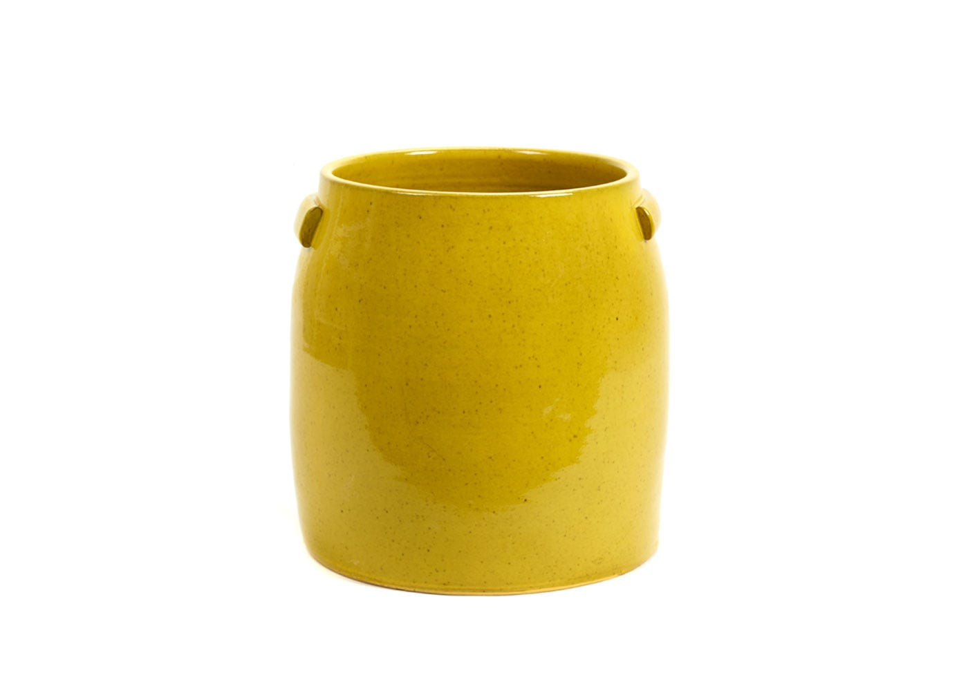 As Shown: Jars Plant Pot Extra Large in Yellow