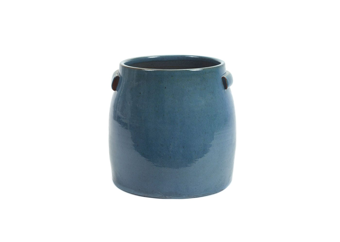 As Shown: Jars Plant Pot Large in Blue