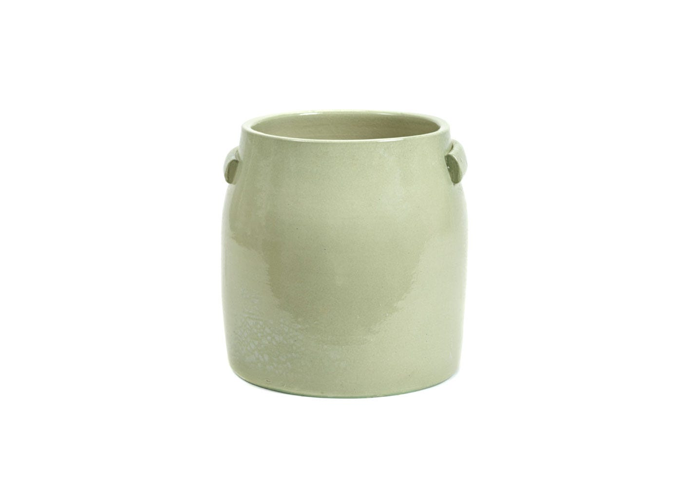 As Shown: Jars Plant Pot Large in Green