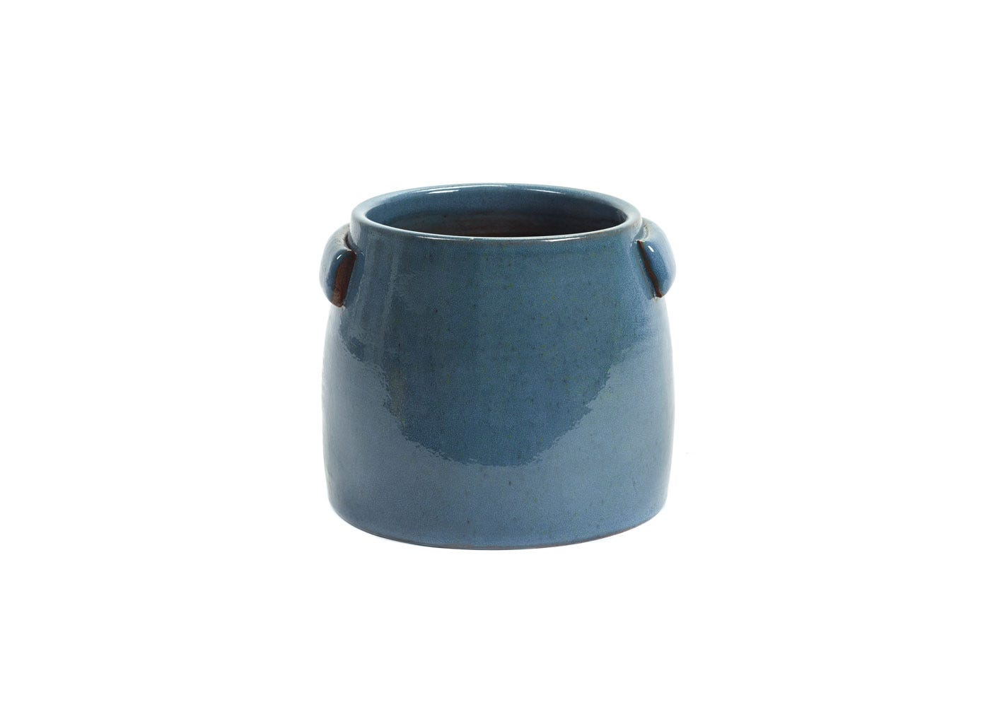 As Shown: Jars Plant Pot Small in Blue