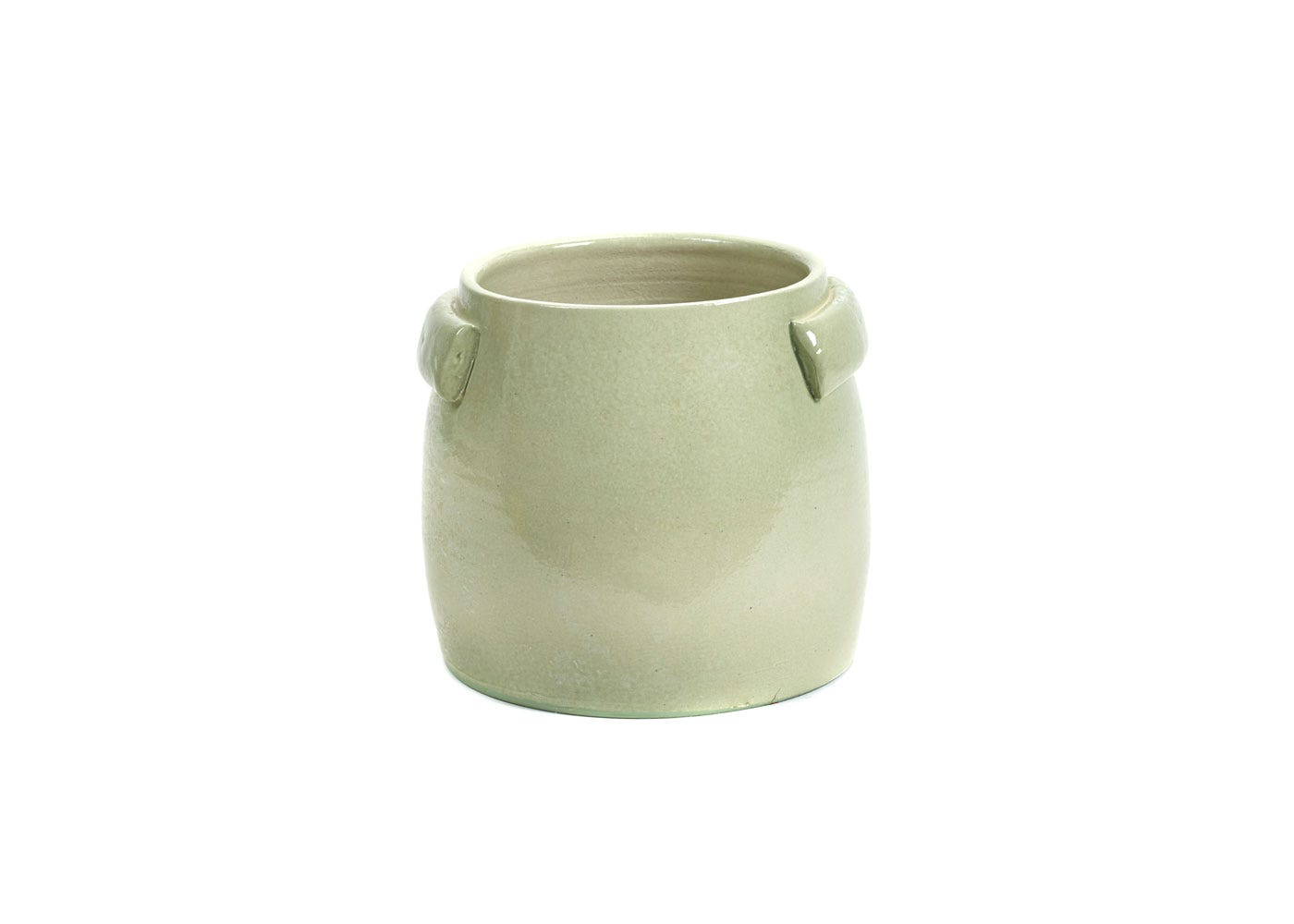 As Shown: Jars Plant Pot Small in Green