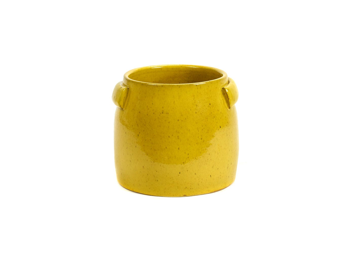 As Shown: Jars Plant Pot Small in Yellow