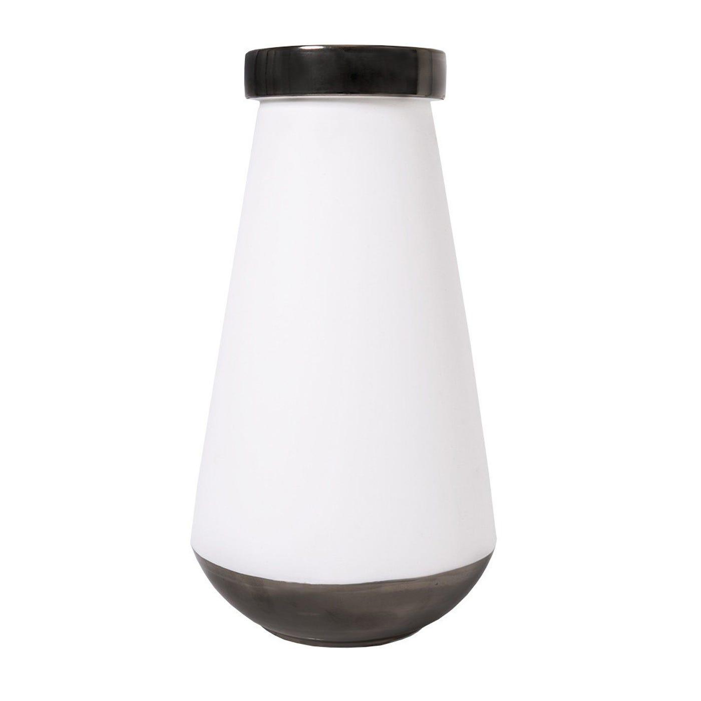 Keele Vase White