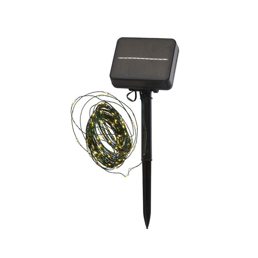 Knirke Solar 120 LED String Lights