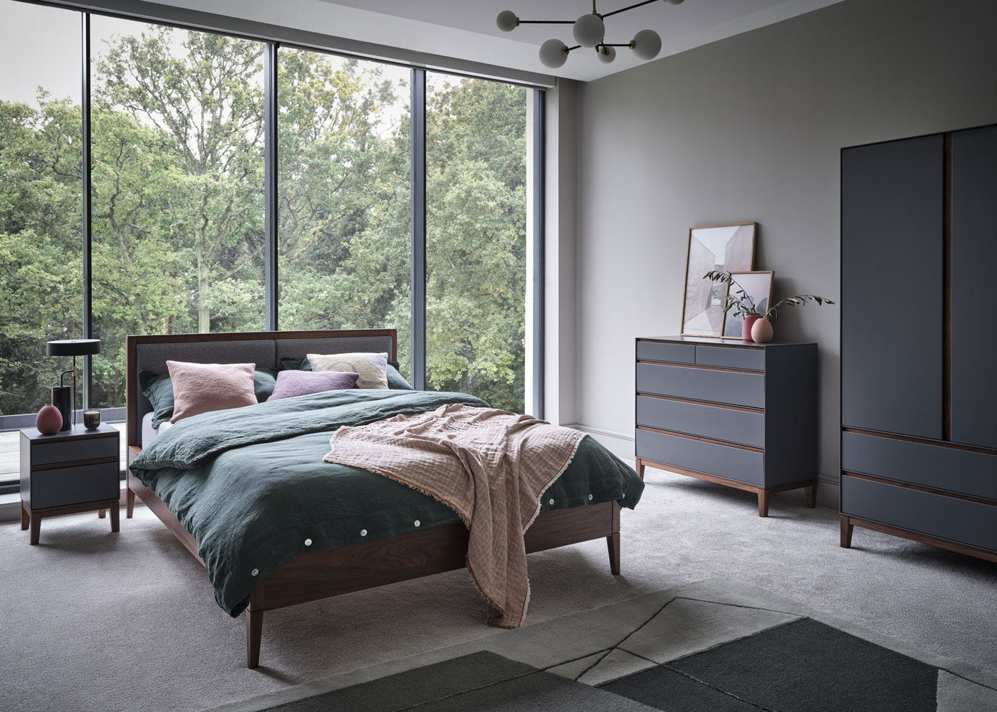 As shown: Lars bedroom collection