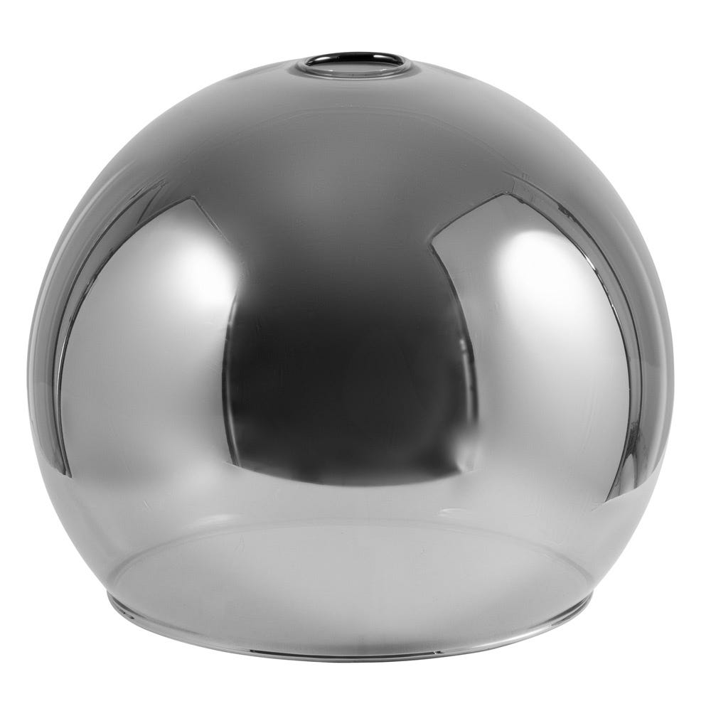 Disc Glass Shade Smoke