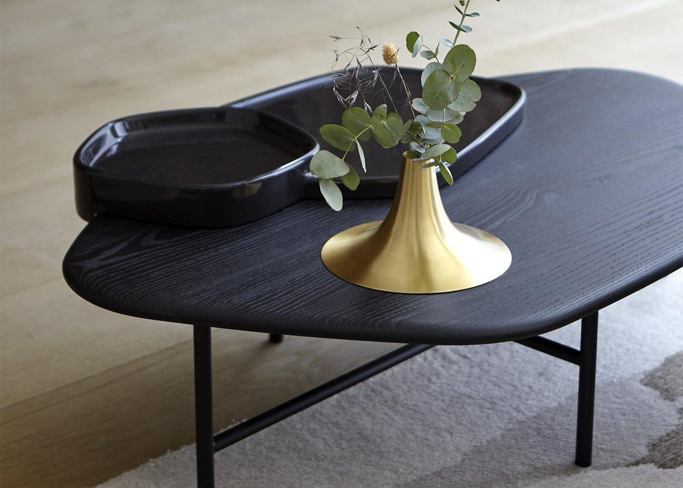 Lewa Low Coffee Table & Kaschkasch Vase