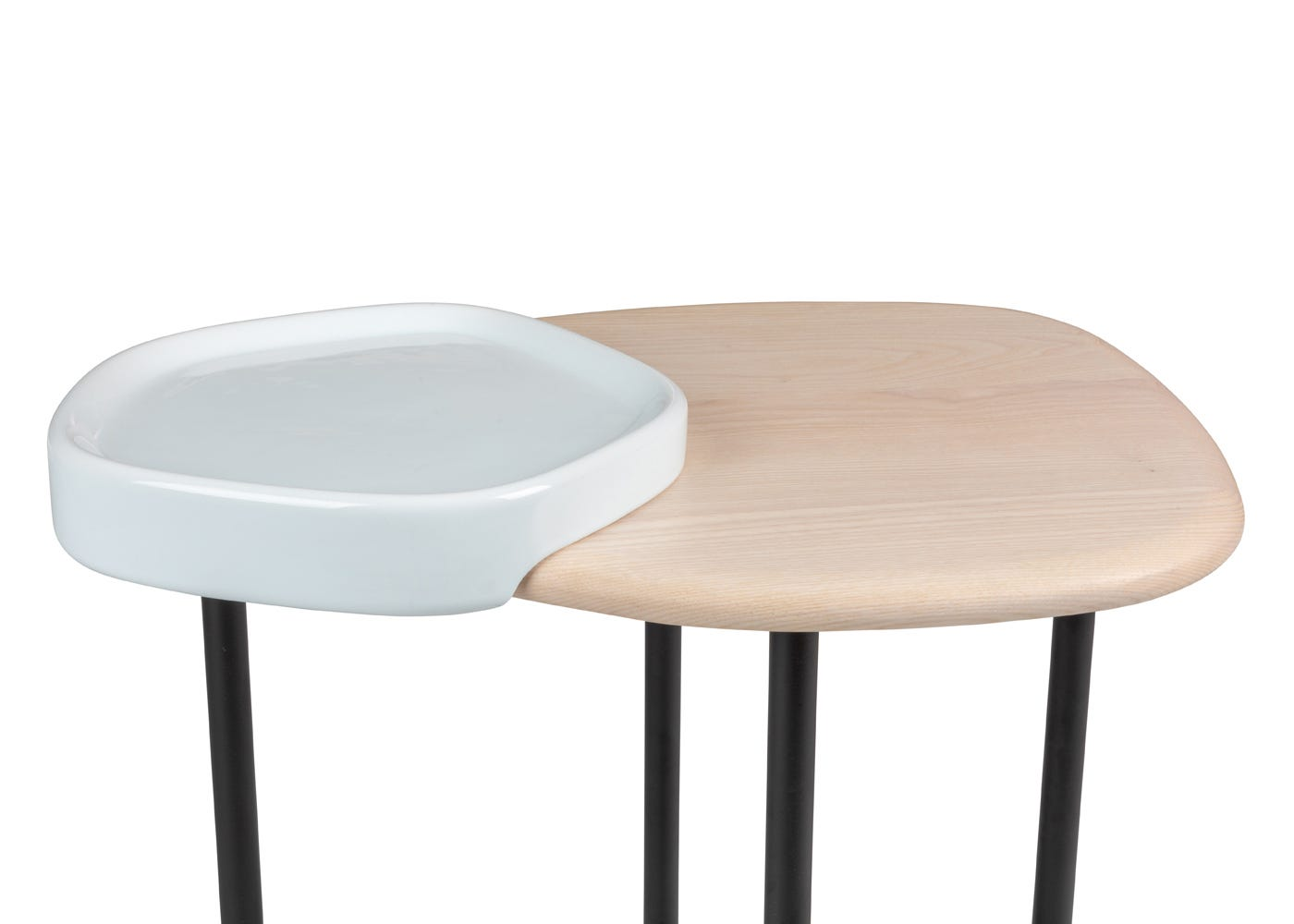 Lewa Side Table - Front Top View