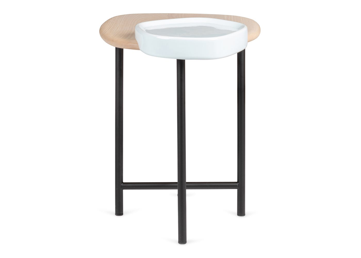 Lewa Side Table - Side View