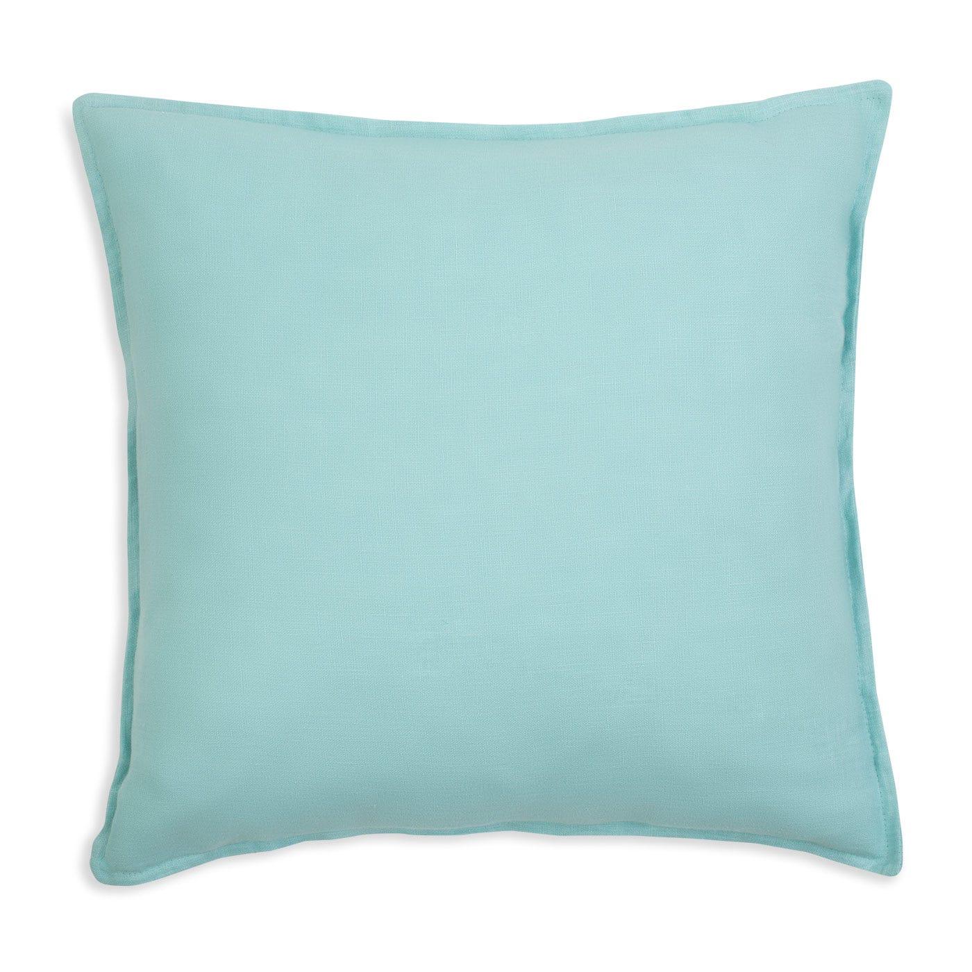 Linen Aqua Cushion