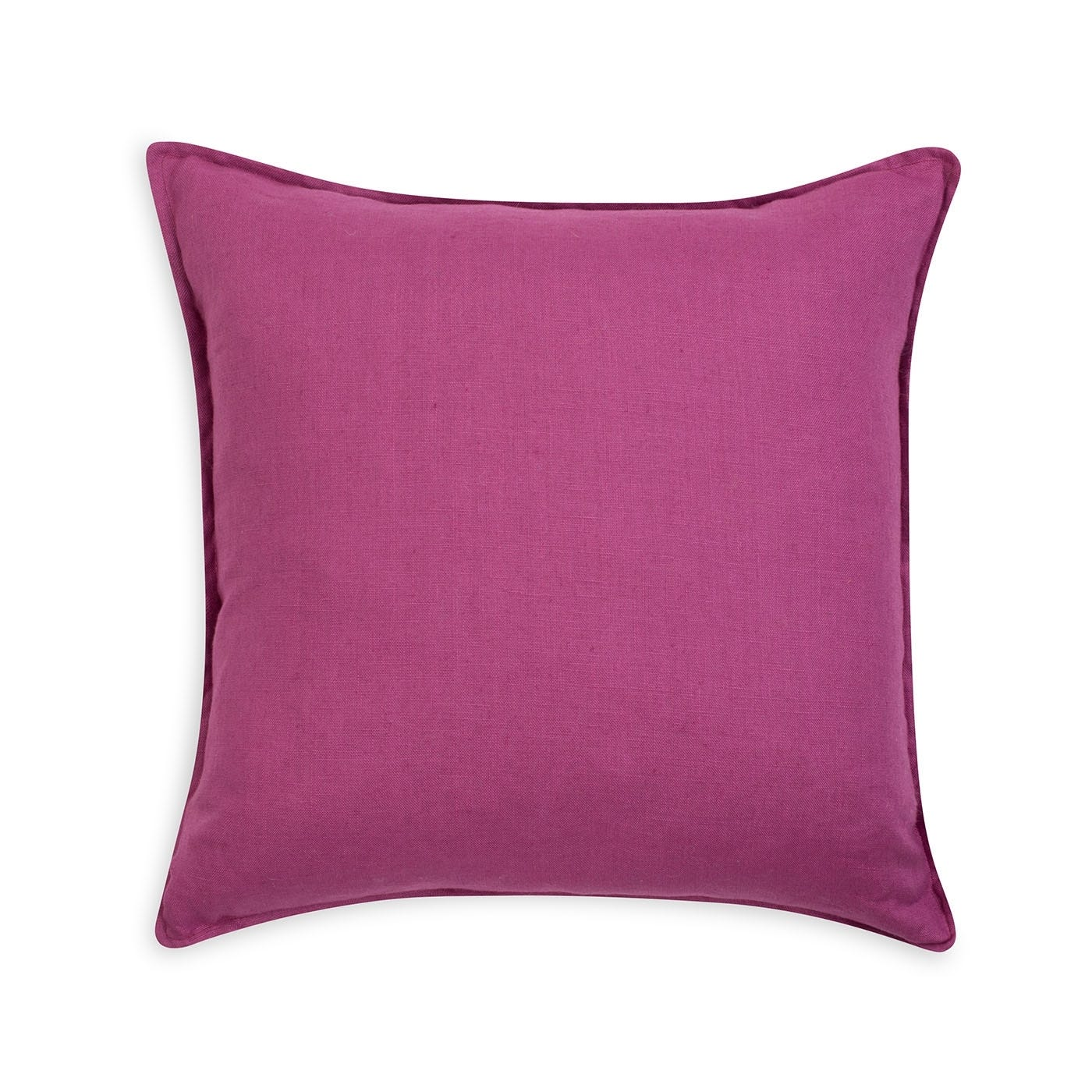 Linen Cushion Magenta