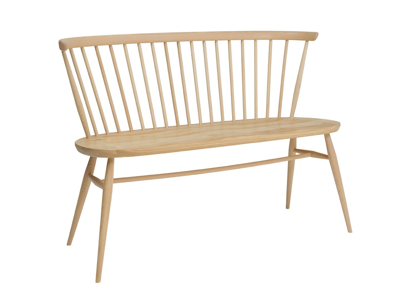 As shown: Originals Loveseat Beech and Elm - Side Profile.
