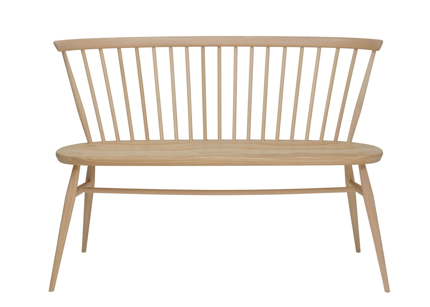 As shown: Originals Loveseat Beech and Elm - Front Profile.