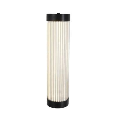 Pillar LED Wall Light Weathered Brass