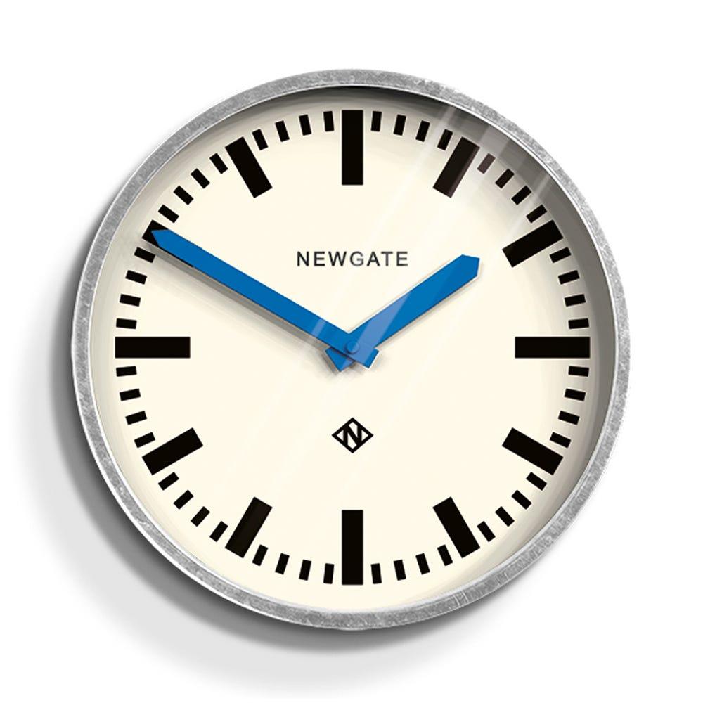 Luggage Wall Clock Blue