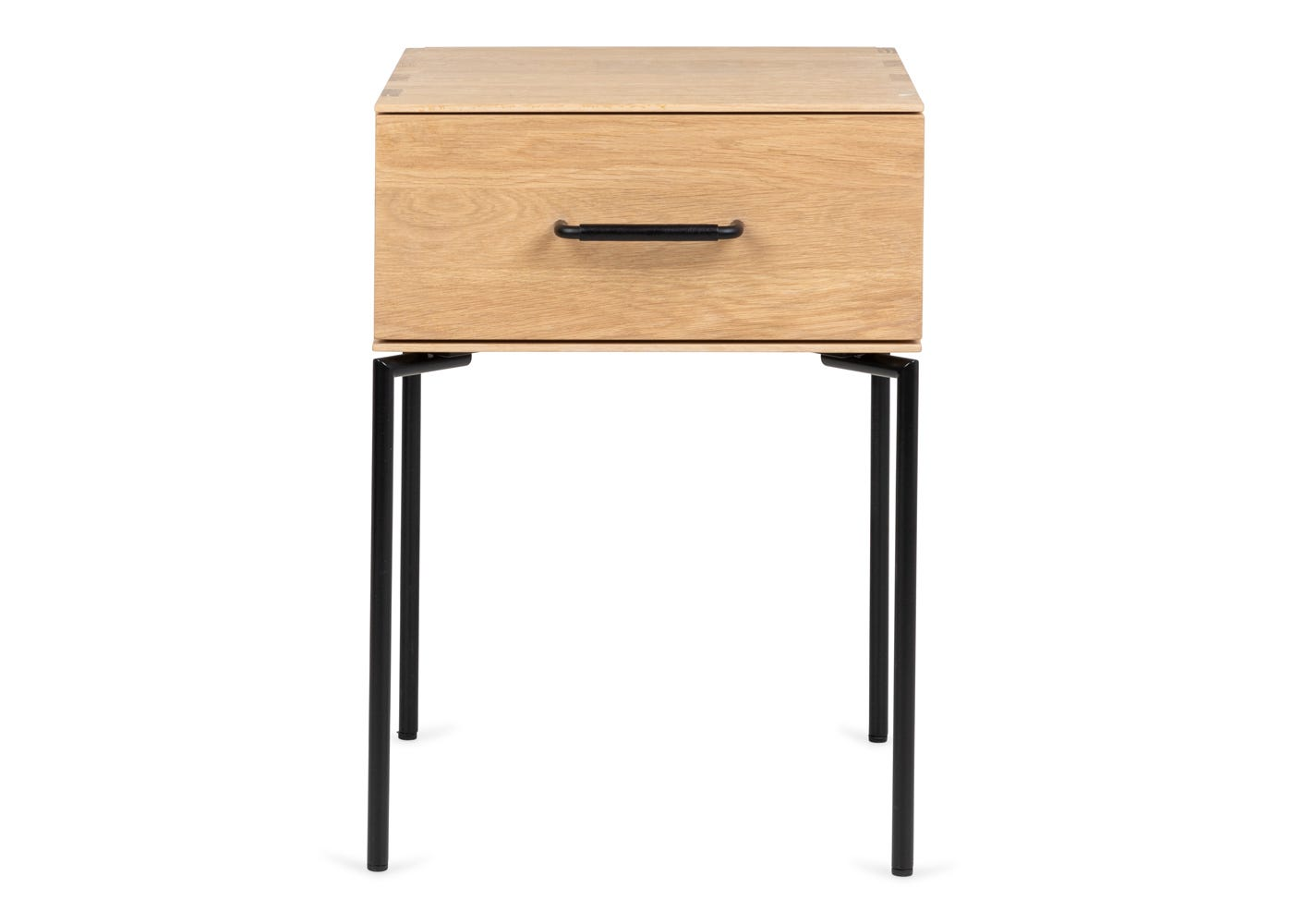 As shown: Marano bedside table - Front profile.