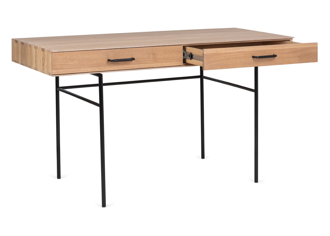 The Marano desk has 2 drawers, ideal for storage.