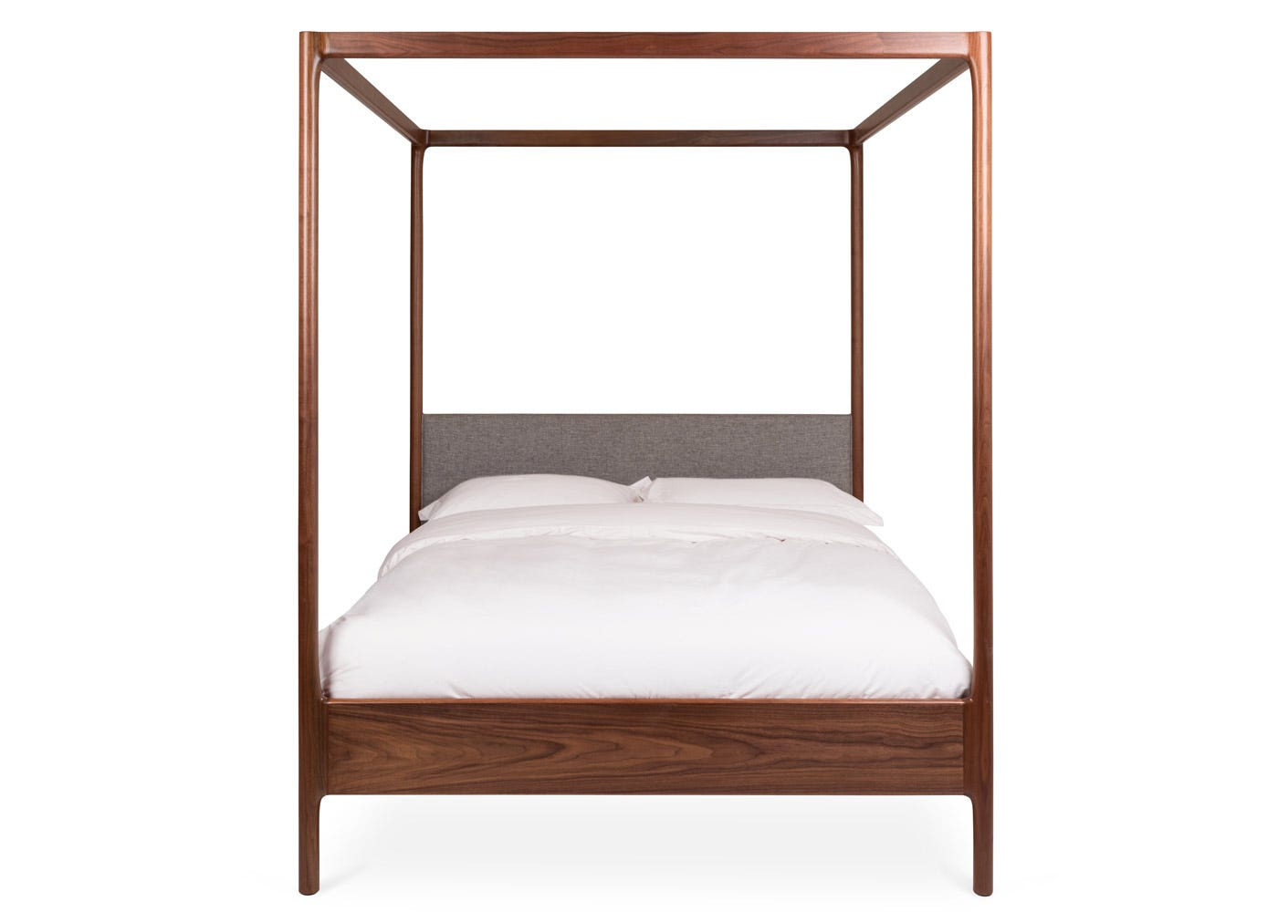 As Shown: Marlow 4 Poster Bed Front Profile