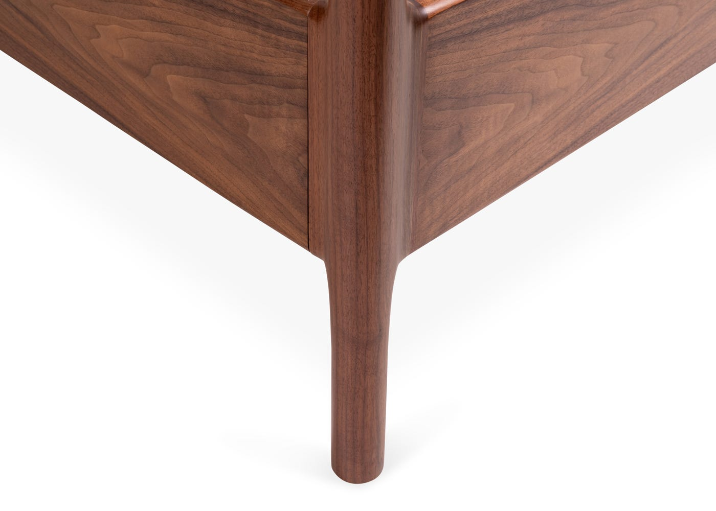 As Shown: Marlow 4 Poster Bed Leg