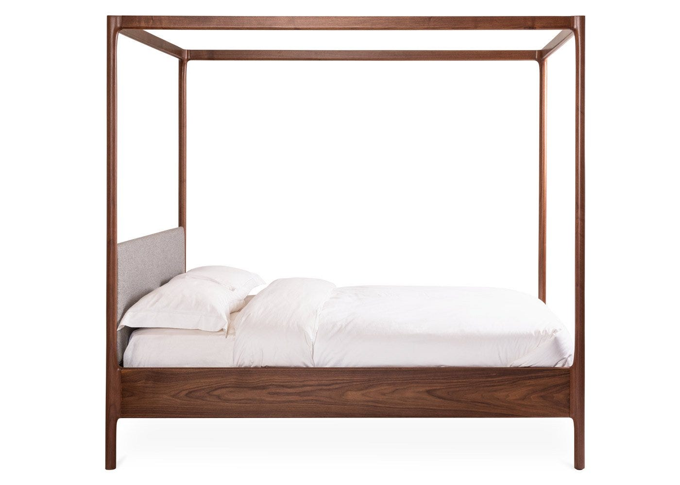 Marlow 4 Poster Bed - Side Profile.