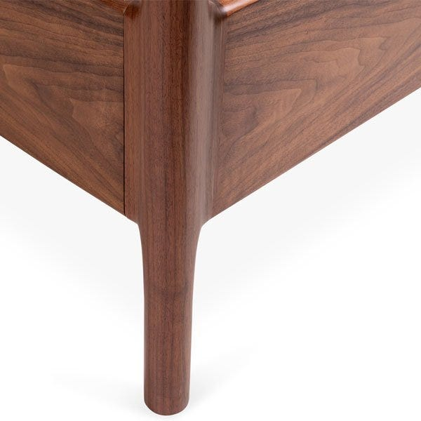 Beautiful crafted legs for a modern design.